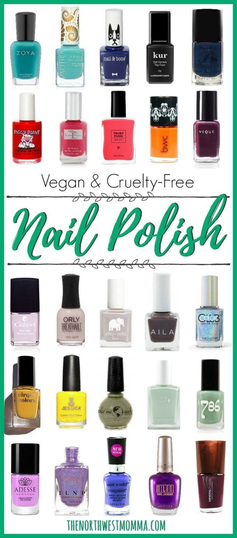 Vegan & Cruelty Free Nail Polish – Schönheits- & Hautpflege – #amp #Beauty #ca … – Nagel Mode