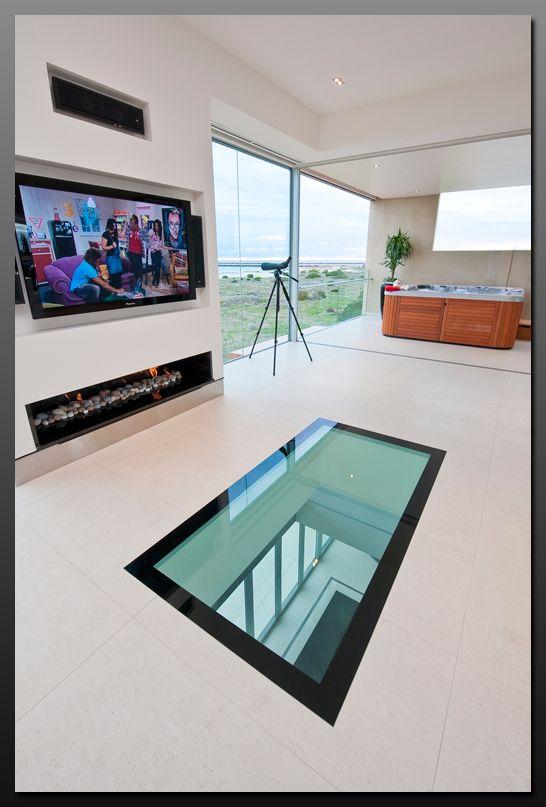 Glass floors / modular glass blocks systems