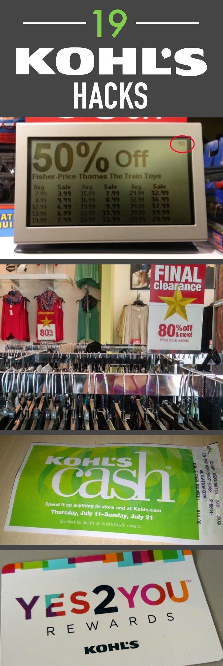 Check out these hacks before you buy anything else from Kohls!
