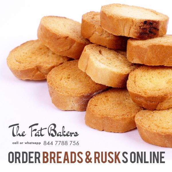 The Fat Baker– Best Price Shop to Buy Breads & Rusks Online in New Delhi, India. Our rusks are specially made with best quality wheat flour and we also add many flavors to make our rusks more delicious and crispy for a very long time.  Call or WhatsApp +91- 844 7788 756 or Visit: - http://thefatbakers.com/bread-n-rusks-in-new-delhi.html