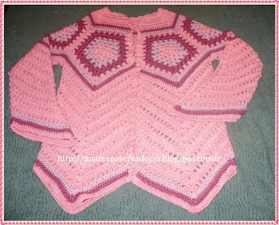 TODO PASO A PASO: SAQUITO ROSA: Weblog Publishing, Clothing Kids, Todo Paso, Saquito Rosa, Free Weblog, Publishing Tools, Kids Cardigans, Crochet Girls, Crochet Clothing