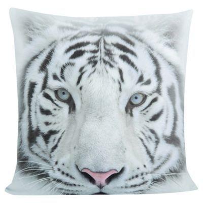 Cojín Tigre blanco 50x50 cm
