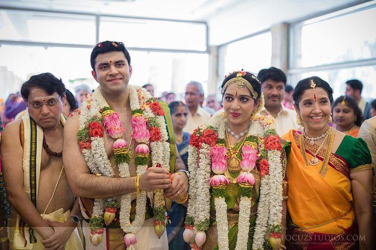 TamBrahm Wedding Across an Atlantic Ocean, Bhargav and Sweta