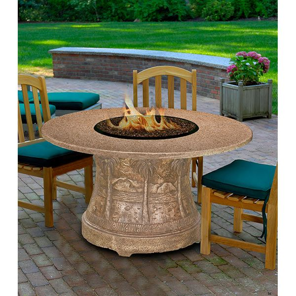 52 Best Fire Pit Dining Table Images On Pinterest Dining Tables Fire Pit T