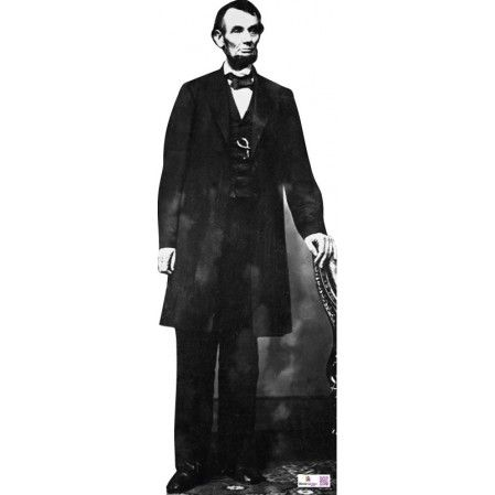 Abraham Lincoln Cardboard Cutout Height: 179cms approx  Availability: In stock