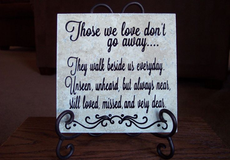 Quotes And Sayings About Death Of A Loved One