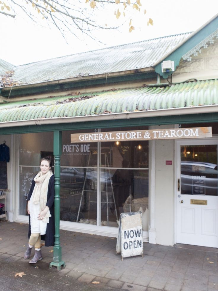 Alia Elaraj at her store, Poet's Ode in Hahndorf, South Australia. Photo Bo Wong // Design Satellite