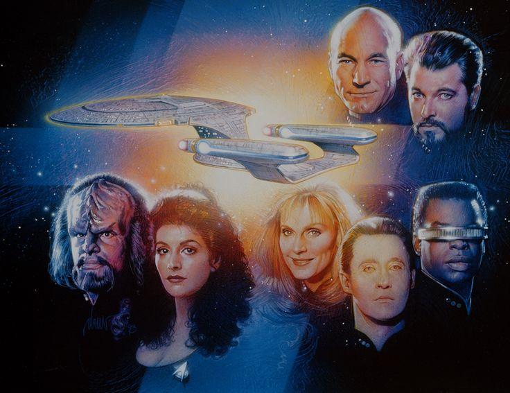 Star Trek: The Next Generation   -Drew Struzan