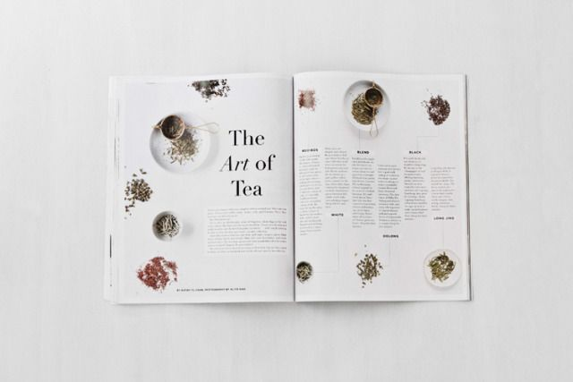 simple but effective magazine layout, you want to attract readers to your articles as well as your aestheticism ~ from Verily Magazine