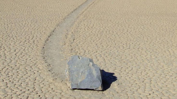 Death Valley's 'sailing stones' are able to move thanks to unique environmental conditions. Have you ever seen a rock move? I mean move independently