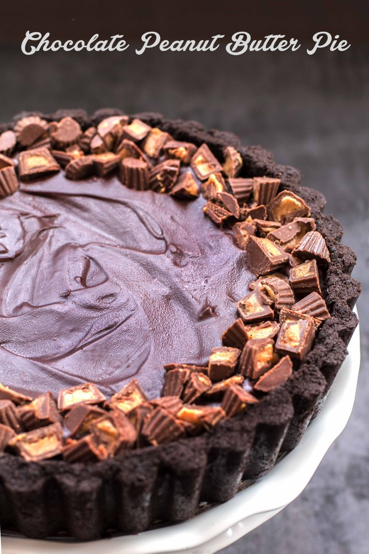 Chocolate Peanut Butter Pie | Deliciously Declassified