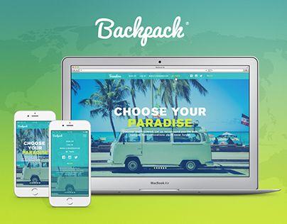 "Check out new work on my @Behance portfolio: ""Backpack - travel platform"" http://be.net/gallery/40621637/Backpack-travel-platform"