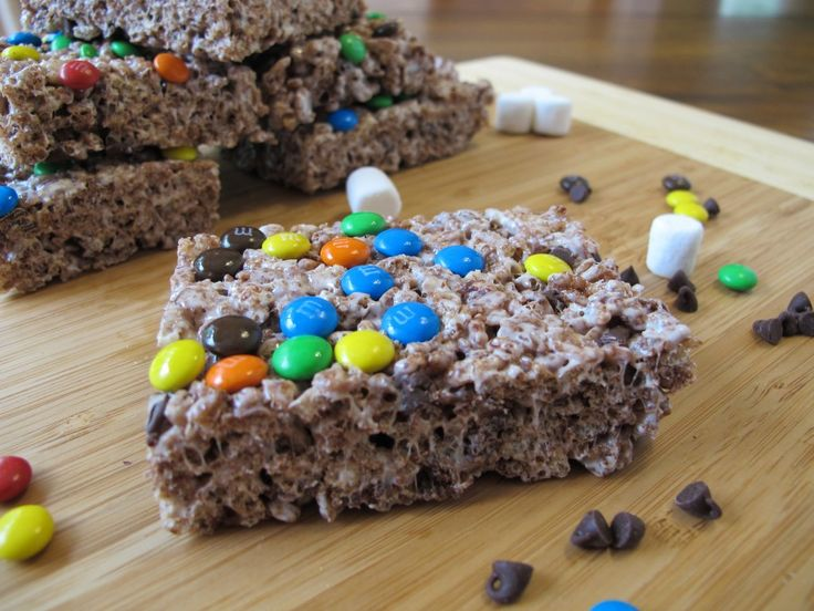 Tripe Chocolate Rice Krispies Treats Recipe