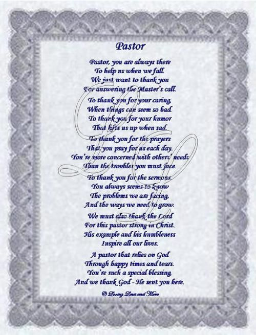 Pastor Appreciation Poems Or Quotes. QuotesGram by @quotesgram