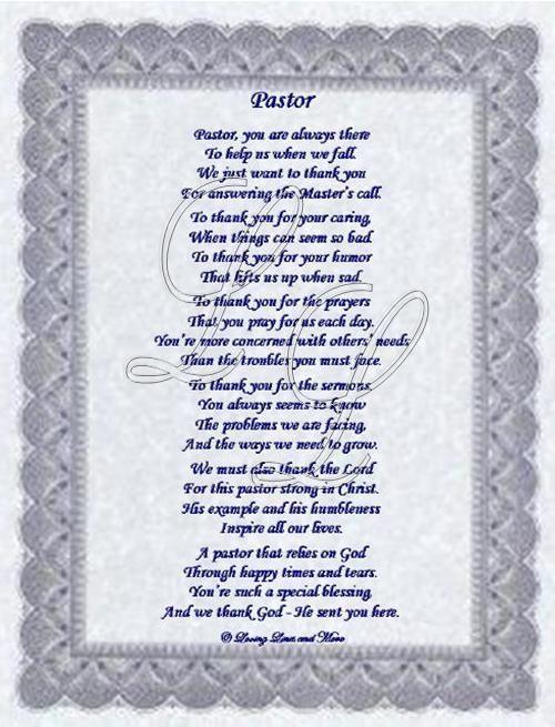 Pastor Appreciation Poems Or Quotes. QuotesGram | Church ...