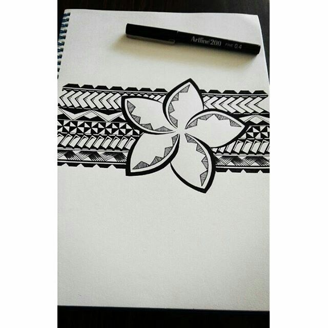 Beautiful Samoan Kaulima I designed for the girls 😊