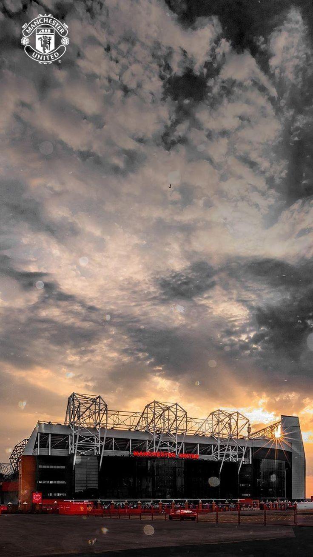 Manchester United Old Trafford Soccer Di 2020 Fotografi Perjalanan Liga Inggris Olahraga