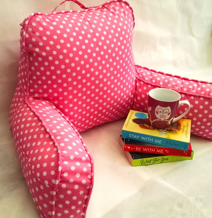 Back pillow bedrest / Reading pillow,Pillow with arms/ Bed pillow nursing and pregnancy. by AreSewPretty on Etsy