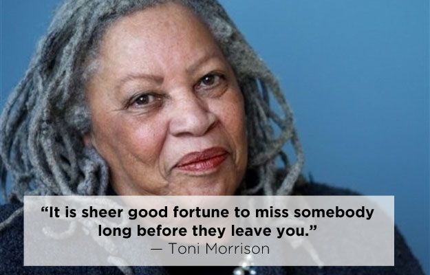 a broad meaning of literature in beloved by toni morrisons Toni morrison is the pen  beloved, that earned her the pulitzer prize and an official place on the stage of american literature morrison has been a professor.