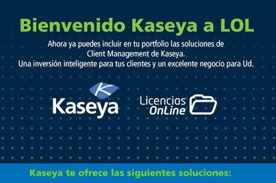 Entra al link para que aprendas sobre todas las soluciones que te ofrece KASEYA