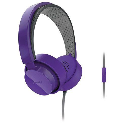Fone de Ouvido Philips Over Ear Roxo - SHL5205