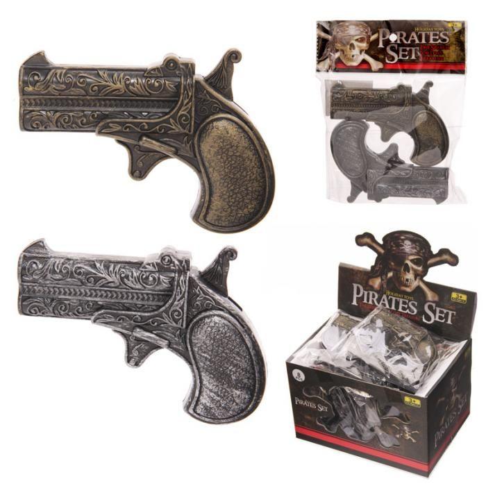 TY494 - Set di 2 Pistole da Pirata Giocattolo | Puckator IT #partybag #kid #idee #compleanno #bambino