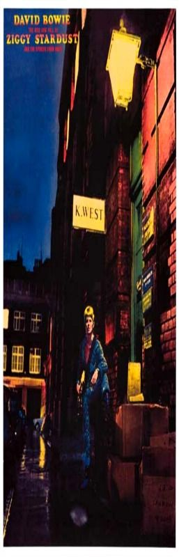A great poster for any David Bowie fan - the classic album cover from Ziggy Stardust! Ships fast. 11x17 inches. Check out the rest of our amazing selection of David Bowie posters! Need Poster Mounts..