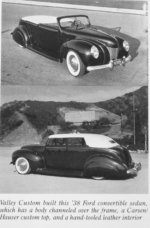 1938 Ford Convertible Ray Vega - Valley Customs