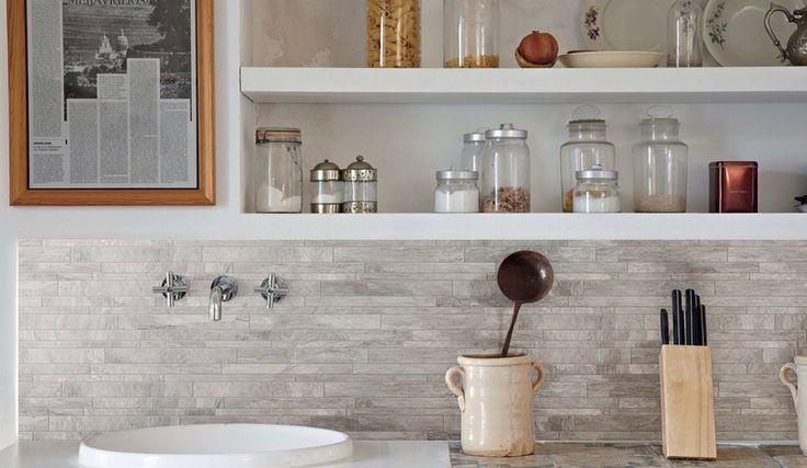 Achterwand Keuken Over Tegels : Tegel achterwand