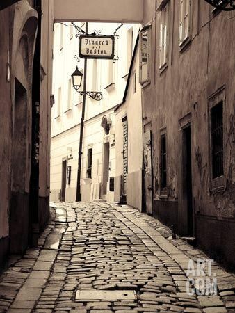 Slovakia, Bratislava, Old Town Photographic Print by Michele Falzone at Art.co.uk