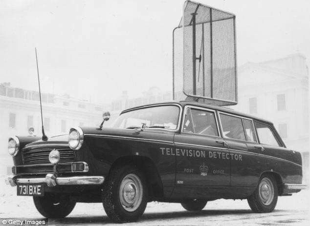Morris Oxford Estate TV Detector Van