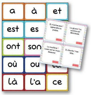 Jeux de carte sur les homophones grammaticaux (La classe de Mallory)