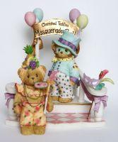 "Masquerade Ball Collector 4er Set - ""Staircase, Don and Yolanda"" - Artikeldetailansicht - Mika Online-Shop"