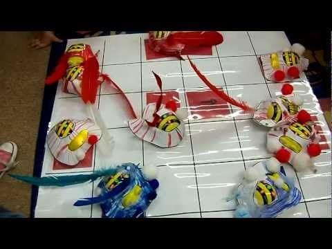 Bee Bots: This is cool. See if you can synchronize multiple Bee Bots to dance at the same time.