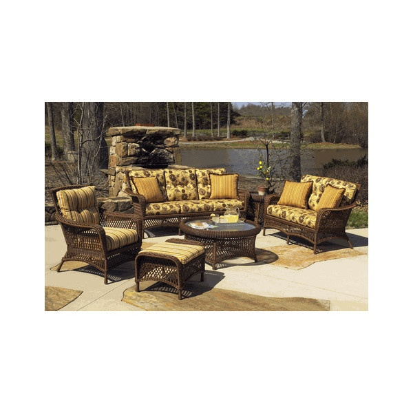 Vinyl Wicker Furniture: Savannah Collection   Outdoor Wicker Furniture  ($2,395) Via Polyvore