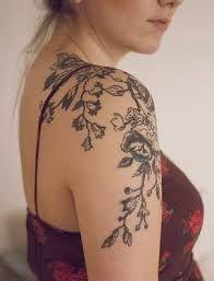 Afbeeldingsresultaat voor flower tattoo