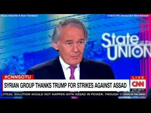 Sen. Ed Markey comments on: Haley: Drumpf may Take More Syria Action With...
