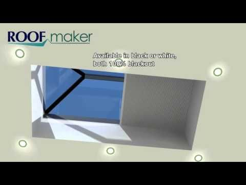 Deans Shy Zip Electric Blind For Roof Lanterns Amp Skylights