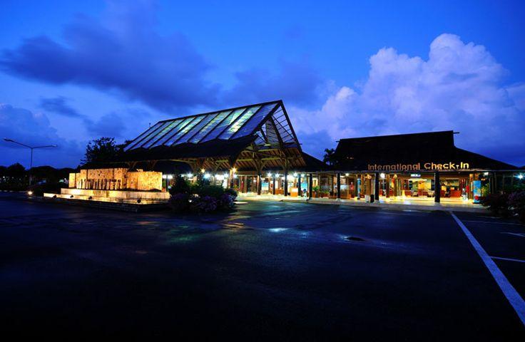 Customs Terminal at Samui airport
