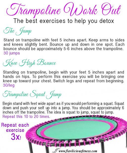 40 Best Mini Trampoline Exercises Images On Pinterest