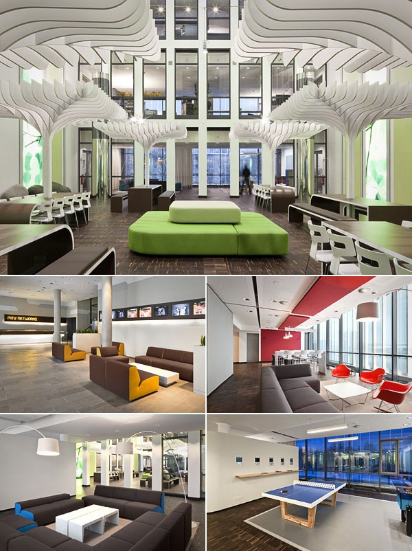 coolest corporate headquarters cnbc office pinterest. Black Bedroom Furniture Sets. Home Design Ideas