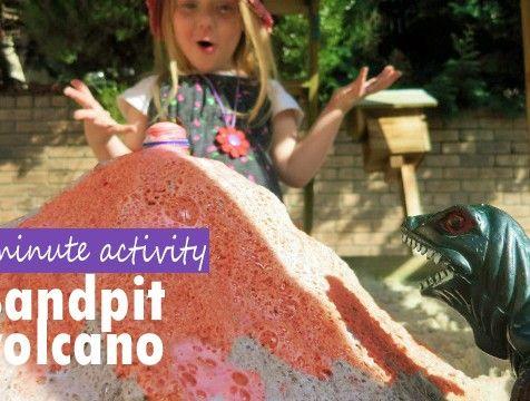 Exploding sandpit volcano - Village Voices