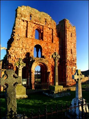 Lindisfarne Priory. Photo: Ashley Corr