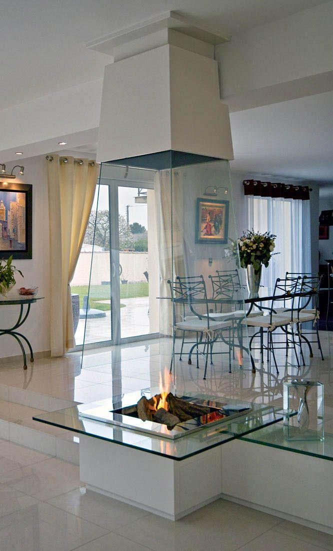 Hanging Fireplaces Or Suspended Fireplaces Look Spectacular And Transform  Architectural Interiors, Bringing Elegance, Character