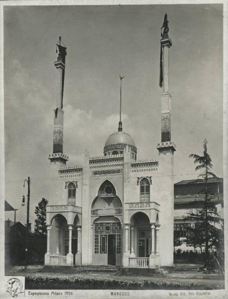 EXPO MILANO 1906. Padiglione del Marocco