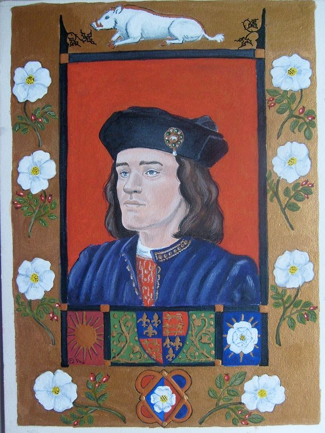 A paintings of Richard lll by Francis Quin