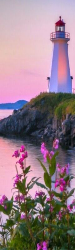 Green's Point Lighthouse in the  Bay of Fundy, L'Etete North Brunswick, Canada. - photographer Greg McCracken
