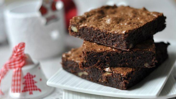 Karácsonyi brownie