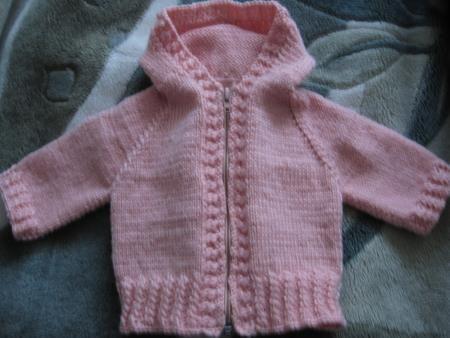 Реглан вязание кофта малыш