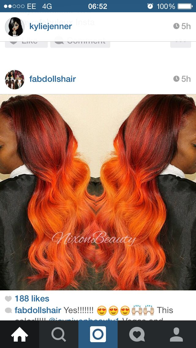 150 Best Images About Copper Ombre Hair Color On